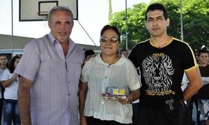 Reginaldo Breda, Diretora Maria Luiza e Francisco Brito Jr.